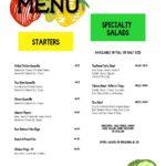 Starters and Salads